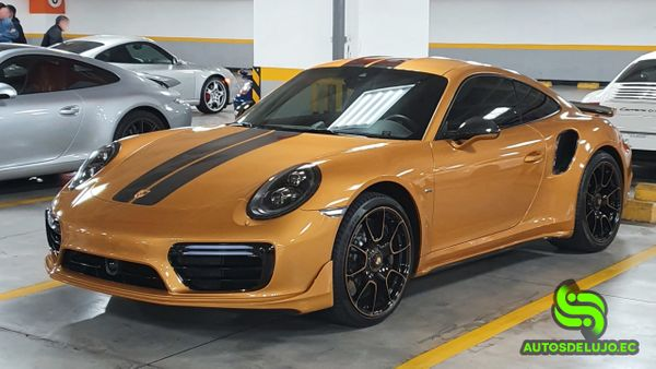Porsche 911 Turbo S Exclusive Series, The Golden Dragon 🐲